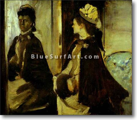 Mme. Jeantaud at the Mirror - £124.99 : Canvas Art, Oil Painting Reproduction, Art Commission, Pop Art, Canvas Painting