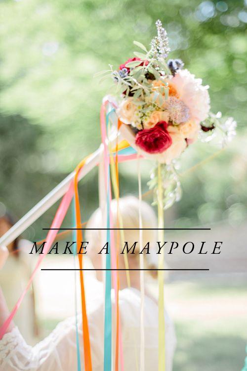 The House That Lars Built.: DIY Maypole For Summer Solstice #BHGSummer