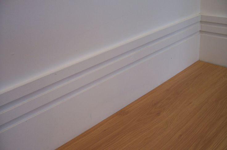 Rodapé de poliestireno: para porcelanato ou qualquer outro piso