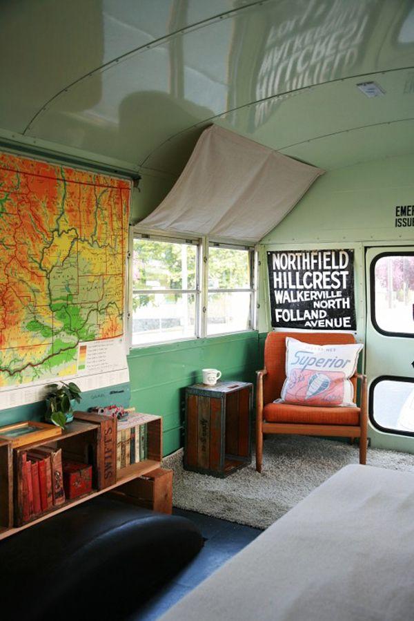 31 best Skoolie RV sample floor plans - School bus conversion RV ...