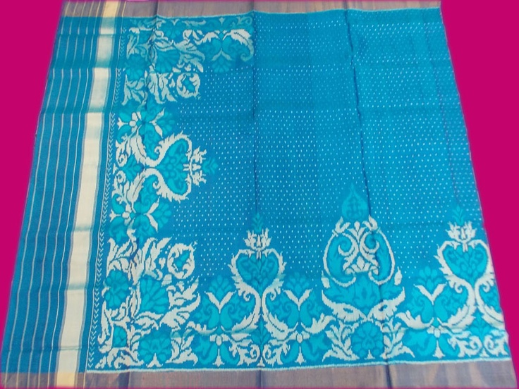 Rajkot patola--my new favorite--I have a turquoise one and a shocking pink and orange one. I must try to get a new one from Bombay or Delhi!