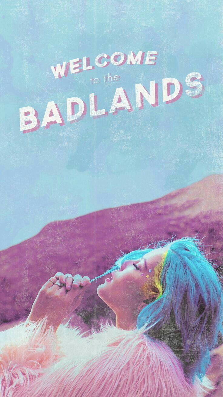 Badlands Halsey Halsey Poster Halsey Badlands