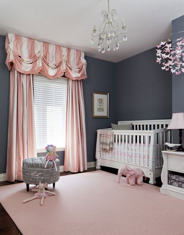 20 Traditional Nursery Designs For Baby Girls #nurserydesignidea #nurserydecor