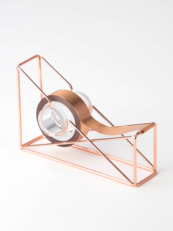 U Brands Copper Wire Tape Dispenser
