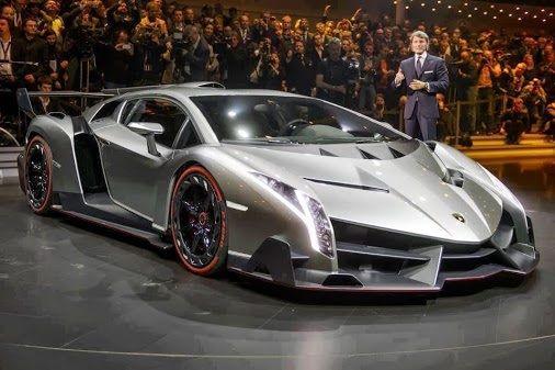 I wander what kind of guy drives this Lamborghini Veno ...