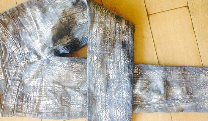 "Tutorial para ""Enchular"" tus Jeans con un toque plateado - TITIAGUAYO.CL"