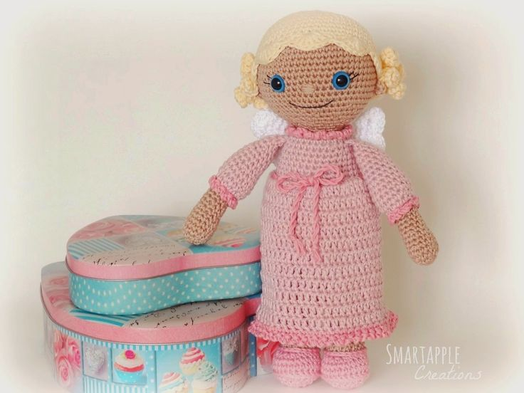 Amigurumi Bb Angel : 17 Best images about Crochet Dolls on Pinterest ...