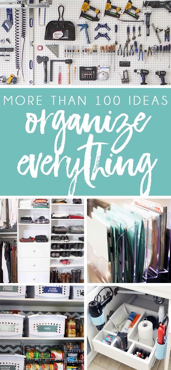 Organizing Ideas for Every Room of the
