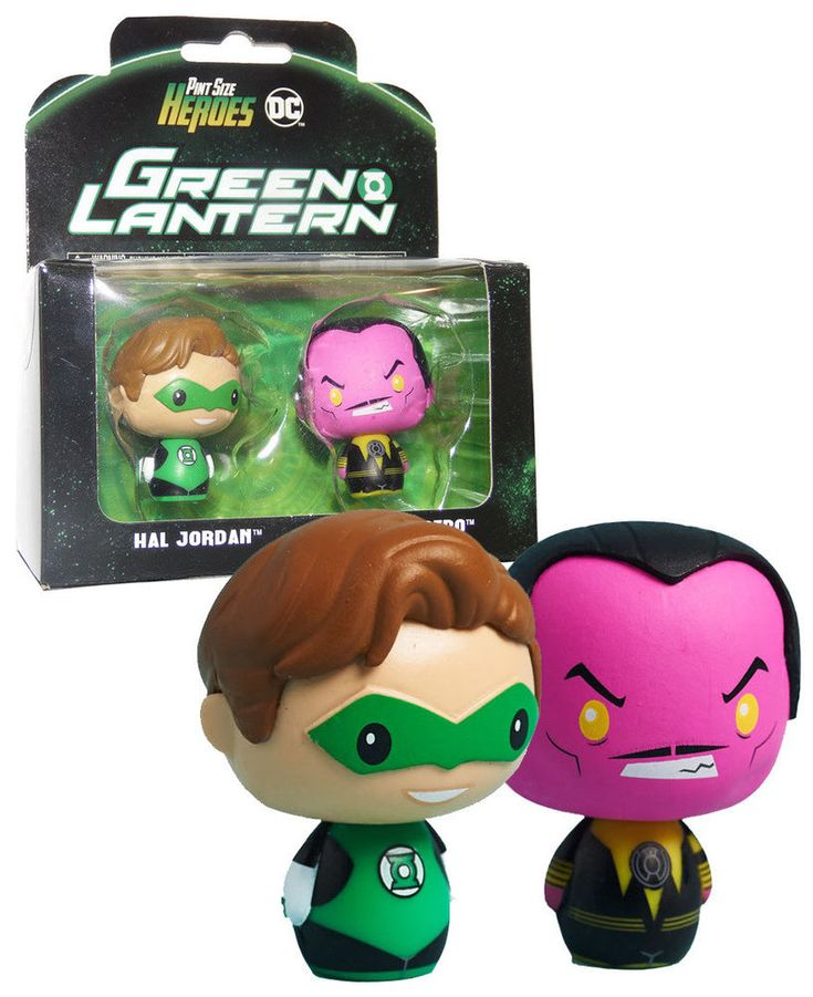 Funko Pint Size Heroes Two Pack - Green Lantern Hal Jordan And Sinestro - DC Legion Of Collectors Exclusive - New, Mint Condition.  https://www.ebay.com.au/itm/232692200306  OR https://www.supportivepc.com  #Funko #DC #LegionOfCollectors #GreenLantern #Collectibles
