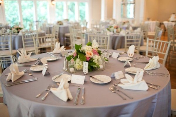 Pink and Gray Wedding  Click here for more wedding inspiration >>>http://pinterest.com/luxenw/boards/