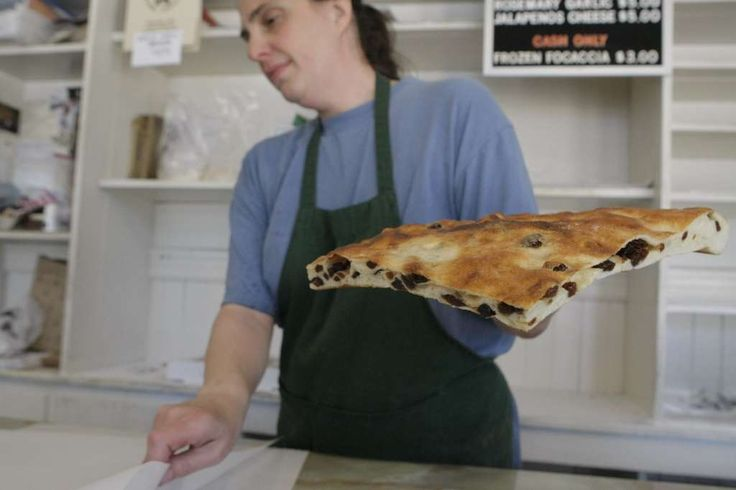 Eat fresh focaccia from the Liguria Bakery in North Beach. Photo: Audrey Whitmeyer-Weathers, The Chronicle