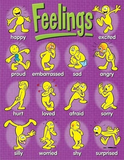 18 best feelings chart images on Pinterest Feelings chart - feeling chart