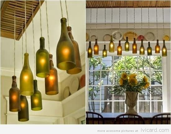 Creative way to recycle bottles