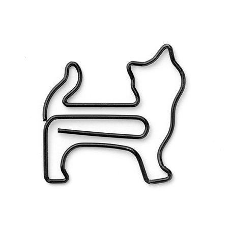 Midori D-Clips - Paper Clips - Standing Cat