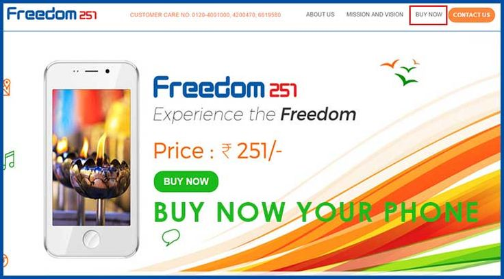 Freedom 251 Phone Online Booking Step By Step - @Rs 251