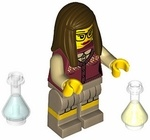 Name: LEGO Mini Figure Nerd Girl Manufacturer: LEGO Series: LEGO Mystery Mini Figure Collector Series 10 Release Date: January 2013 For ages: 4 and up
