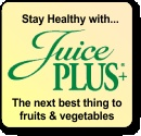 Juice Plus+ is 17 raw fruits and vegetables in a capsule (or chewable) – 100% whole food nutrition – without the water, sugar or salt. The produce is vine ripened (so it is full of nutrients unlike what we buy at the grocery store which is picked green and shipped thousands of miles), power washed (so it is completely herbicide, pesticide and bacteria free), juiced within 36 hours, dehydrated at low temperatures (to preserve the live enzymes) and encapsulated.  What makes it so completely…