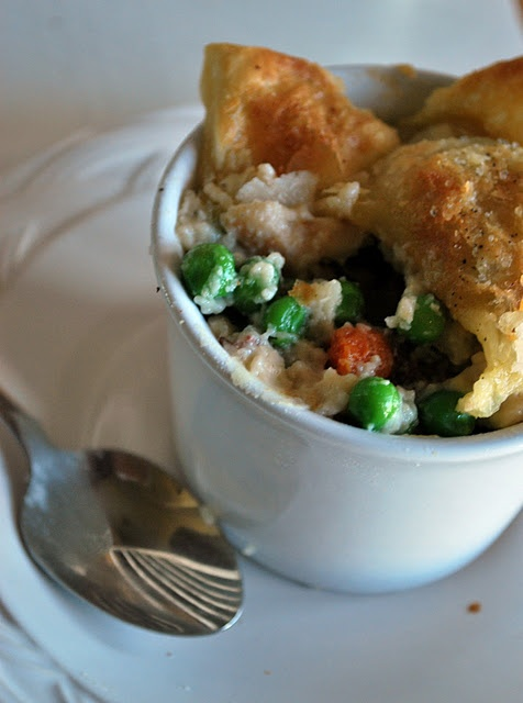 Chicken Pot Pie with Puff Pastry Crust | Recipes | Pinterest