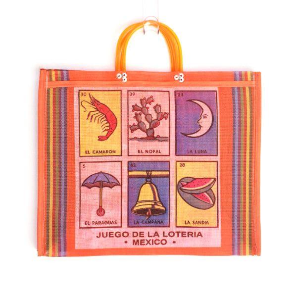 Market Bag - Loteria Orange