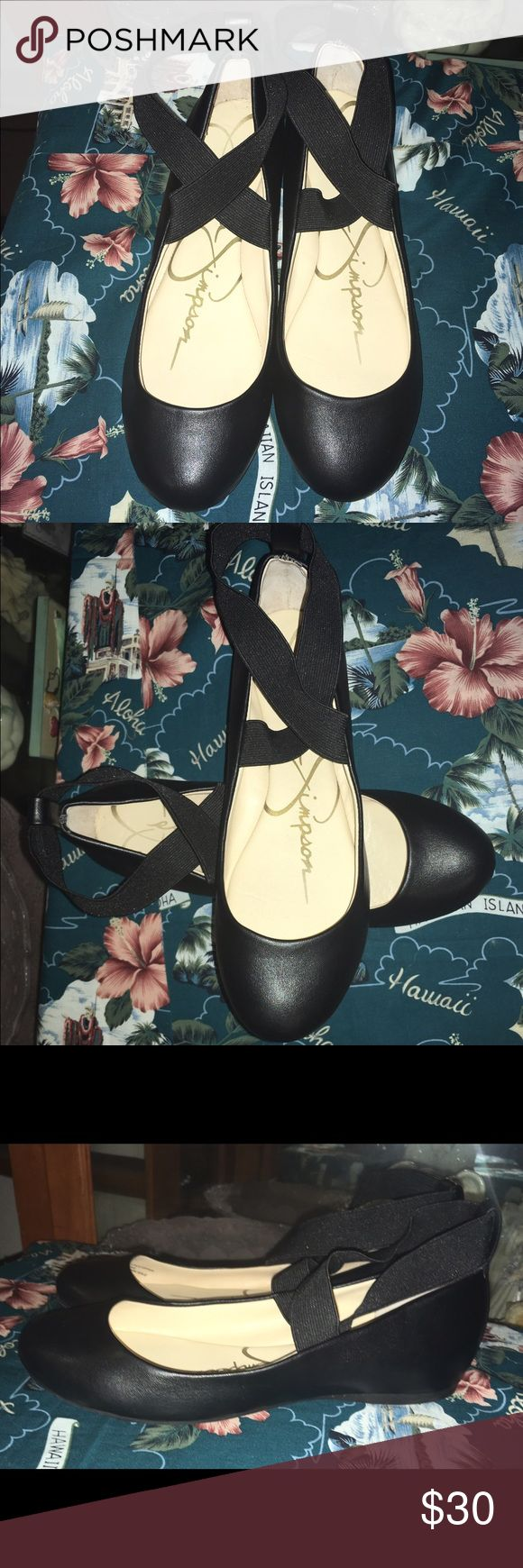 Jessica Simpson Ballet Flats Size 7 Beautiful Jessica Simpson Ballet Flats Size 7. It is in great condition Jessica Simpson Shoes Flats & Loafers