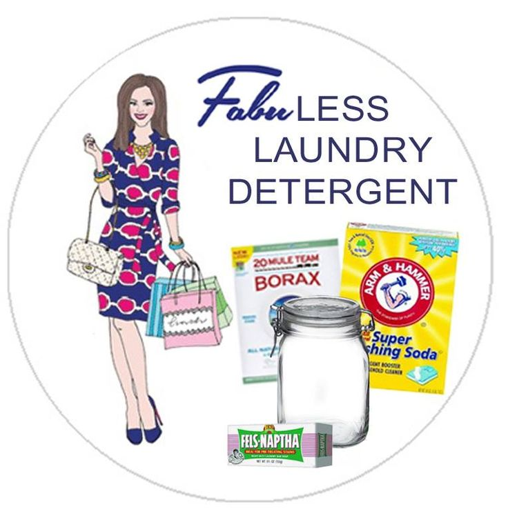Live FabuLESS | FabuLESS, homemade laundry detergent recipe– ONLY THREE INGREDIENTS! Septic safe and HE compatible.