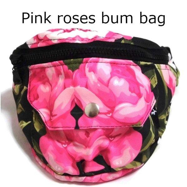 MrGUGU&MissGO ポーランド ピンクローズ ウエストバッグ Pink roses bum bag ウエストポーチ レディース おしゃれ バック…