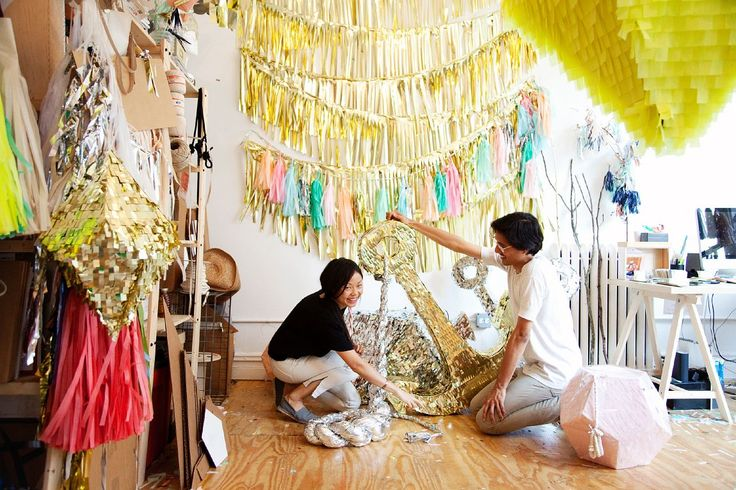 I want my little corner to look like this;) I will talk to all of you about some ideas I have for my side of the studio;): Party Time, Confettisystem, Confetti Systems, Diy, Craft Ideas, Photo, Party Ideas