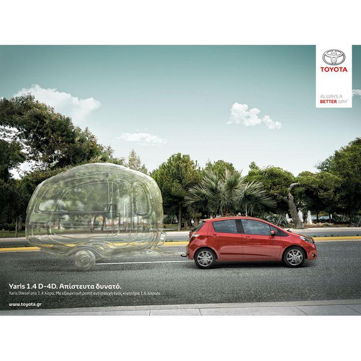 Toyota yaris balloon