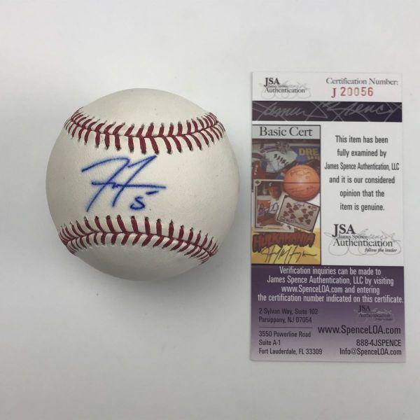 Mlb Baseball Hall Of Fame Sports Memorabilia Rawlings Baseball Atlanta Braves Autograph Sign