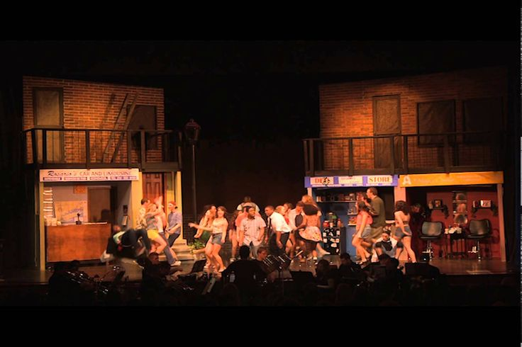 The first act of The Penn State Thespians production of In The Heights on April 5th, 2014. The creative team is as follows: Director: Anne-Marie Pietersma Pr...