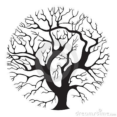 stylised tree drawing google search