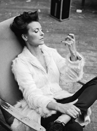 Danuta Stenka - Polish actress by Mateusz Stankiewicz for SUKCES