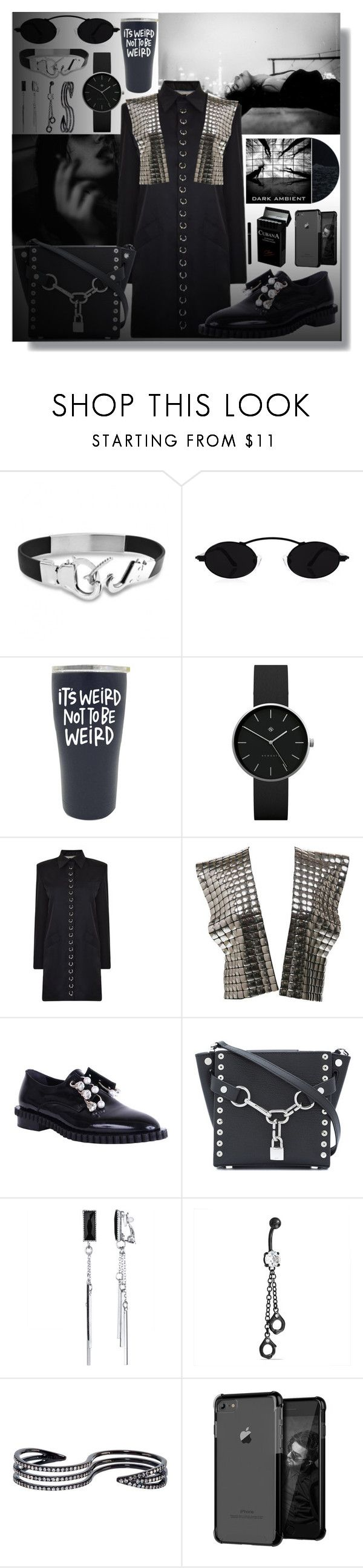 """Untitled #111"" by shewalksinsilence ❤ liked on Polyvore featuring Bling Jewelry, Newgate, Ashley Williams, Krizia, Coliàc Martina Grasselli, Alexander Wang and Plukka"