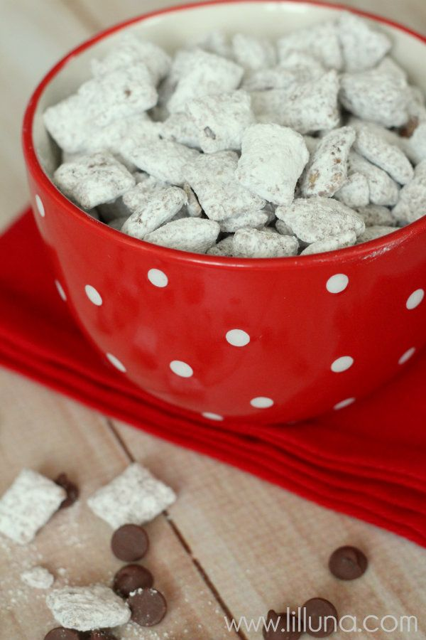 Puppy Chow Recipe – our familys fav