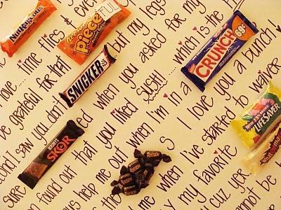 Make a Candy gram!