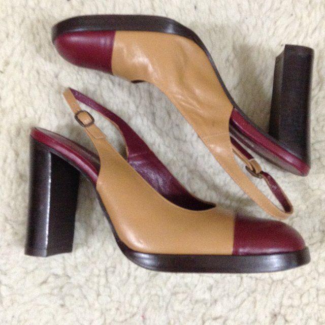 499f526e84e Listed on Depop by dreamdwellervintage | shoes | Depop, Burgundy ...