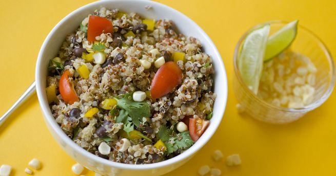 fiesta quinoa saladPlants Strong, Fiestas Quinoa, Www Forksoverknives Com, Vegan Recipes, Forks Over Knives, Whole Food, Plants Based, Quinoa Salad, Food Healthier