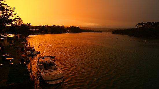 Sunset, Lake Conjola, NSW, Australia