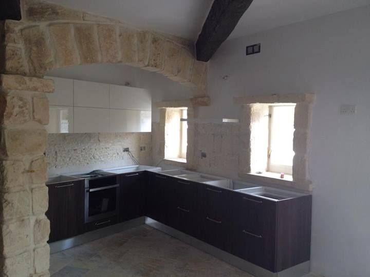 Cucina Miton MT122 SAN GALLO  MT706 BIANCO LACCATO LUCIDO  #cucina #living #arredamento