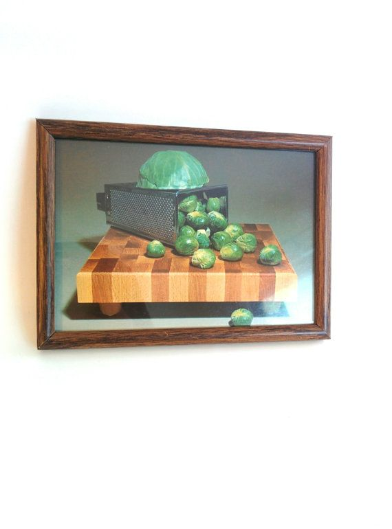 Check out this item in my Etsy shop https://www.etsy.com/listing/191767969/vintage-whimsical-kitchen-wall-hanging