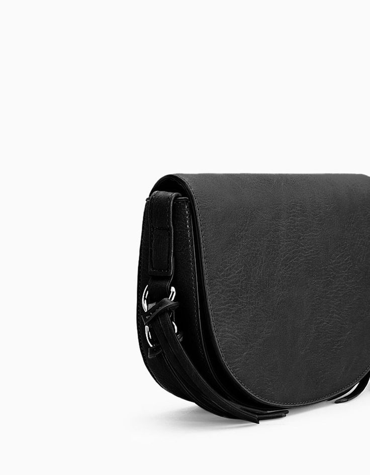 Messenger bag with ring trim - Bags | Stradivarius United Kingdom