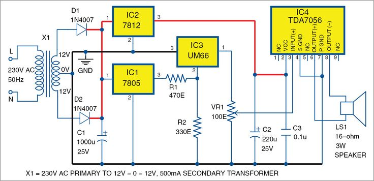 3W audio amplifier using TDA7056 DIY Pinterest Audio amplifier - ics organizational chart
