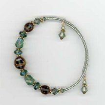 wire jewelry | Easy Memory Wire Bracelet | AllFreeJewelryMaking.com
