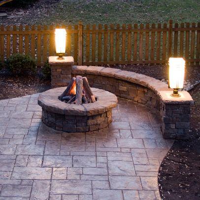 patio stamped concrete patio design ideas, pictures, remodel and ... - Patio Concrete Ideas