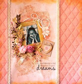 ADRIANA BOLZON ** AB INSPIRATIONS: Cottage Rose - Kaisercraft