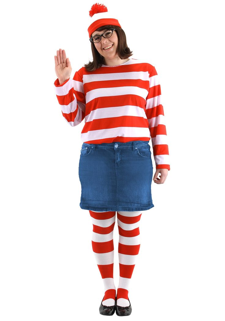 Plus Size Where's Wenda Costume