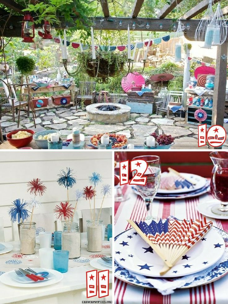 The Scrap Shoppe: 19 Red, White, & Blue Party Ideas