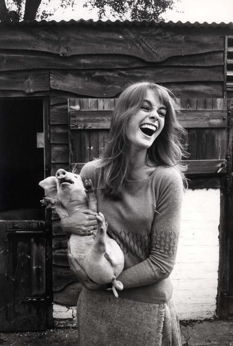 David Hurn: Jean Shrimpton, 1966