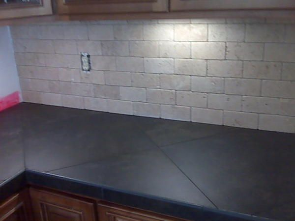 20in. Porcelain Kitchen Counter Top..   Ceramic Tile Advice Forums   John  Bridge