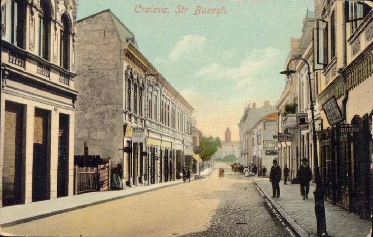 Craiova Str. Buzeşti, anii 1900